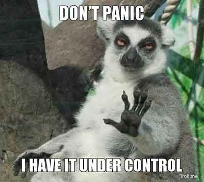 All are under control!)